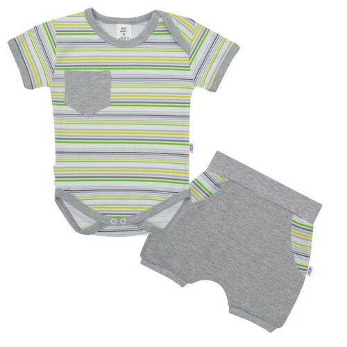 2-részes nyári pamut együttes New Baby Perfect Summer stripes