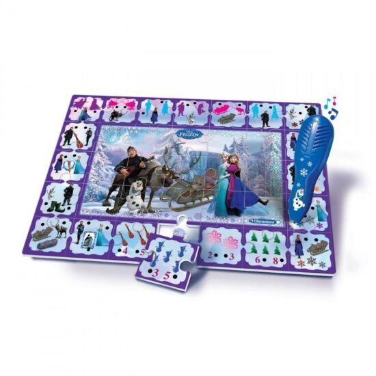 Clementoni Disney interaktív puzzle (35db) - Jégvarázs
