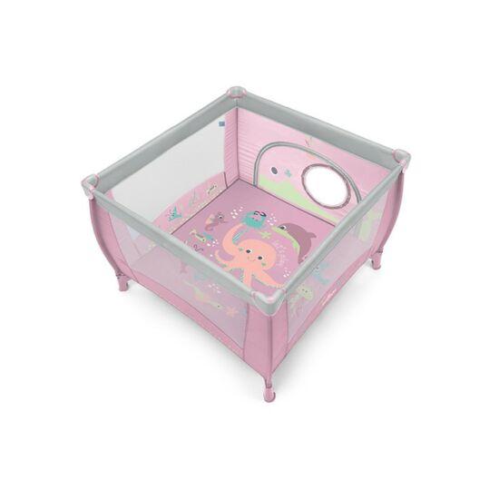 Baby Design Play utazó járóka - 08 Pink 2019 !! kifutó !!