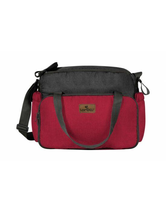 Lorelli B100 pelenkázó táska - Black&Red 2018
