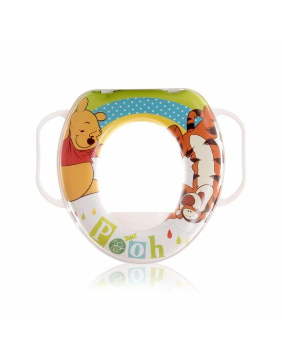Lorelli Disney mintás párnázott WC szűkítő - Micimackó / fehér