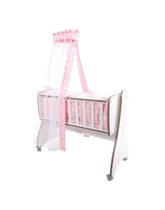 Lorelli First Dreams ágyneműgarnitúra - Pink Stars