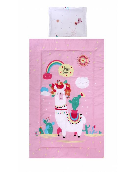 Lorelli 3 részes ágyneműgarnitúra - Happy Lama