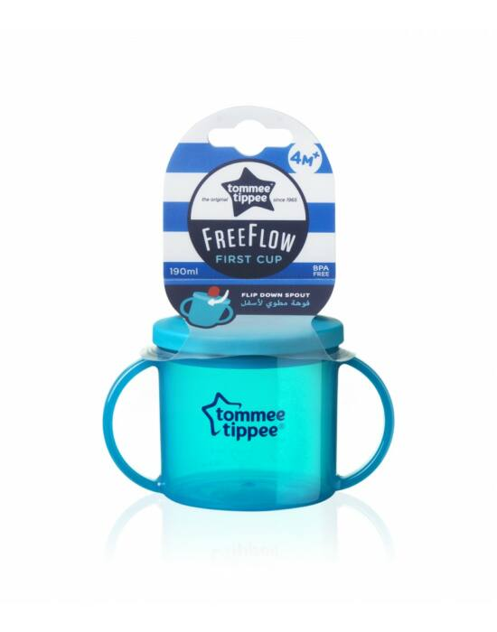 Tommee Tippee FreeFlow First Cup pohár 190ml 4+