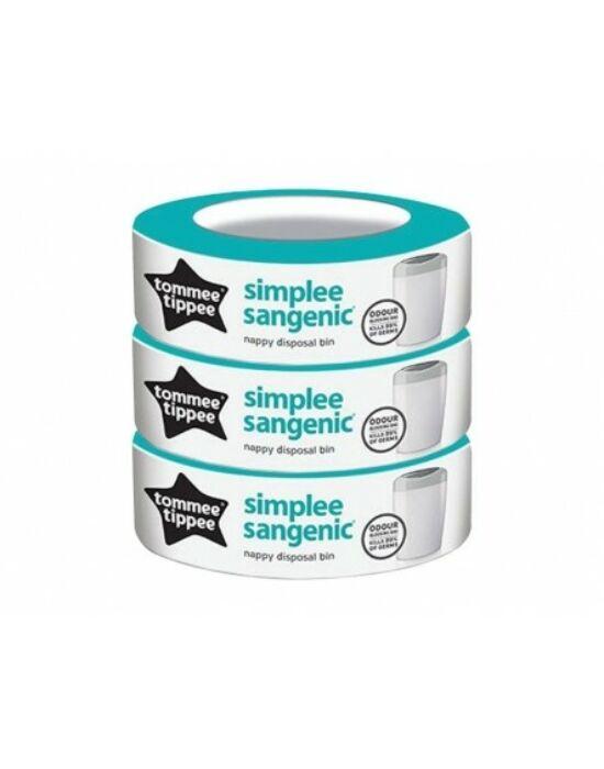 Tommee Tippee Sangenic Simplee utántöltő 3DB SL 87033501