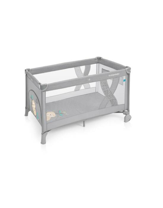 Baby Design Simple fix utazóágy - 07 Light Grey 2019