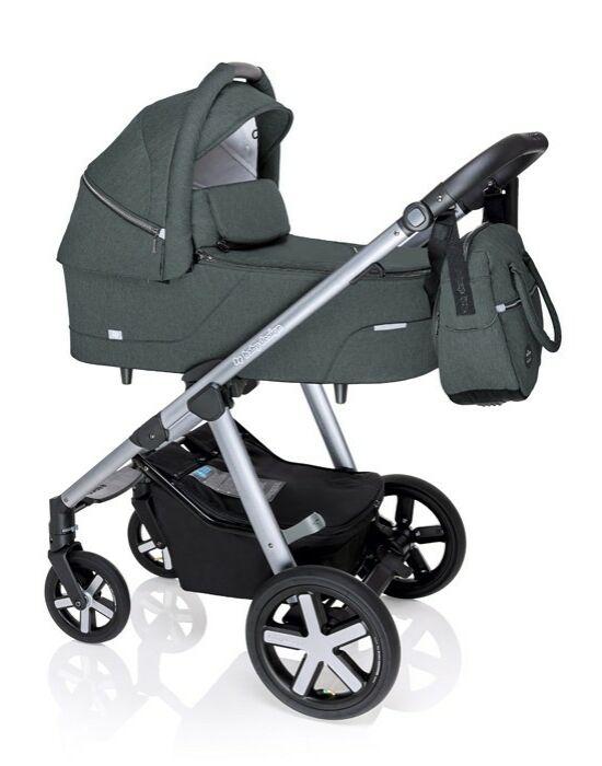 Baby Design Husky multifunkciós babakocsi + Winter Pack - 17 Graphite 2020
