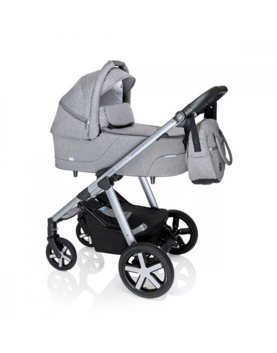 Baby Design Husky multifunkciós babakocsi + Winter Pack - 27 Light Gray 2020