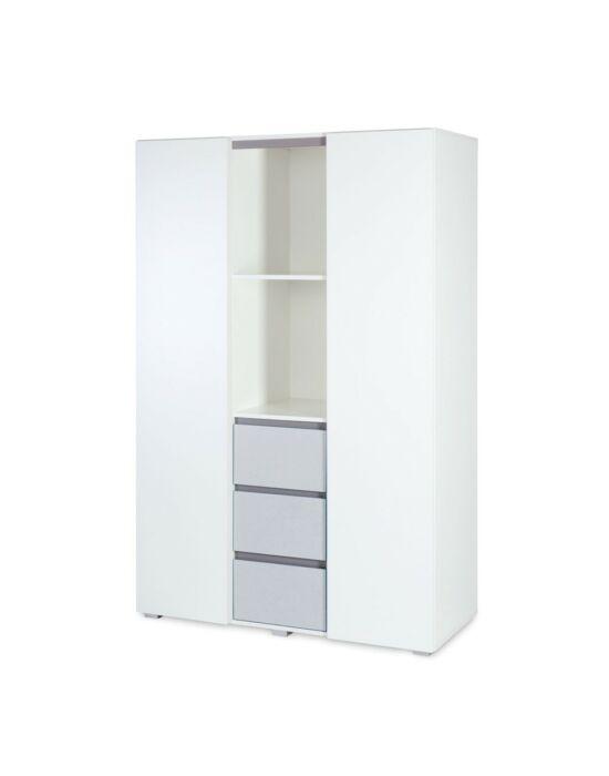 Klups Dalia Grey 2 ajtós 3 fiókos szekrény