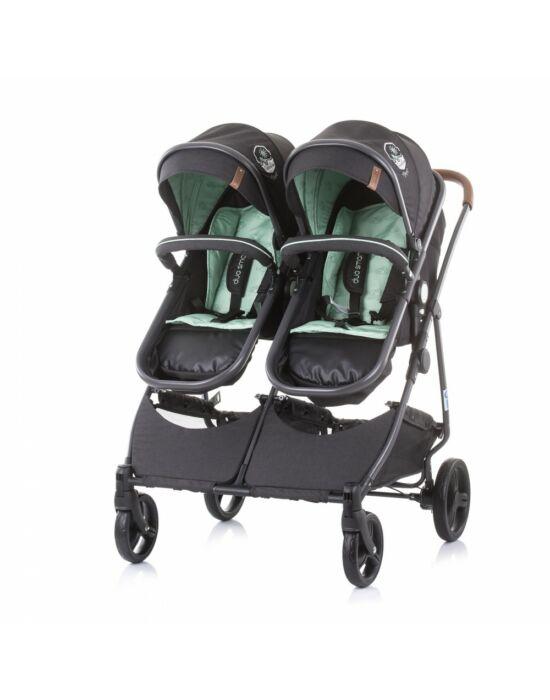 Chipolino Duo Smart iker babakocsi - Mint 2021