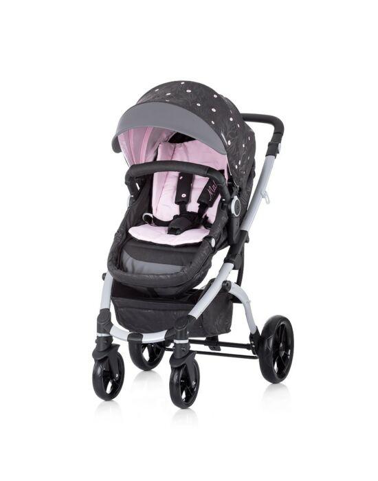 Chipolino Malta babakocsi mózessé alakítható sport résszel - Baby Pink 2020
