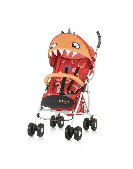Chipolino Ergo sport babakocsi - Red Baby Dragon 2019