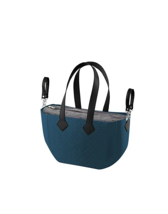 Nuvita myMIA pelenkázó táska - Petrol Grey Black !! kifutó !!