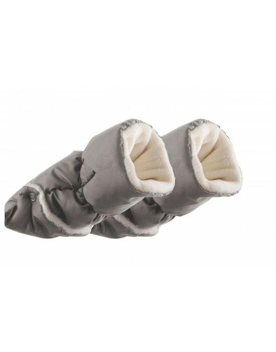 Nuvita AW kézmelegítő kesztyű babakocsira - Melange Light Grey
