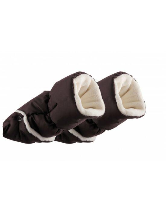 Nuvita AW kézmelegítő kesztyű babakocsira - Taupe