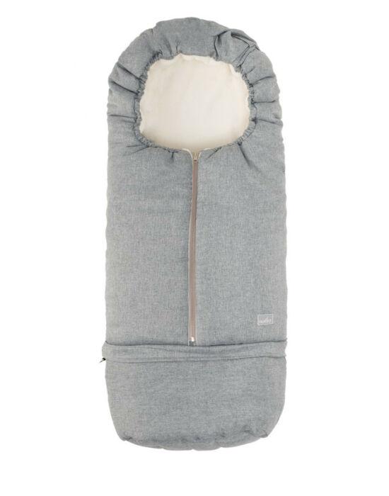 Nuvita AW Carry On 2 az 1-ben bundazsák 80/105cm - Melange Light Gray / Beige - 9845