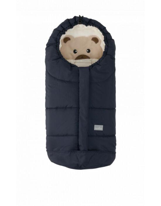 Nuvita AW Ovetto Cuccioli bundazsák 80cm - Bear Melange Blue / Beige - 9205