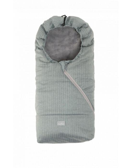 Nuvita AW Ovetto Pop bundazsák 80cm - Pinstripe Gray / Gray - 9235