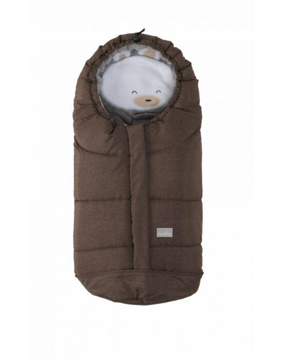 Nuvita AW Ovetto Cuccioli bundazsák 80cm - Rabbit Melange Brown / Beige - 9205