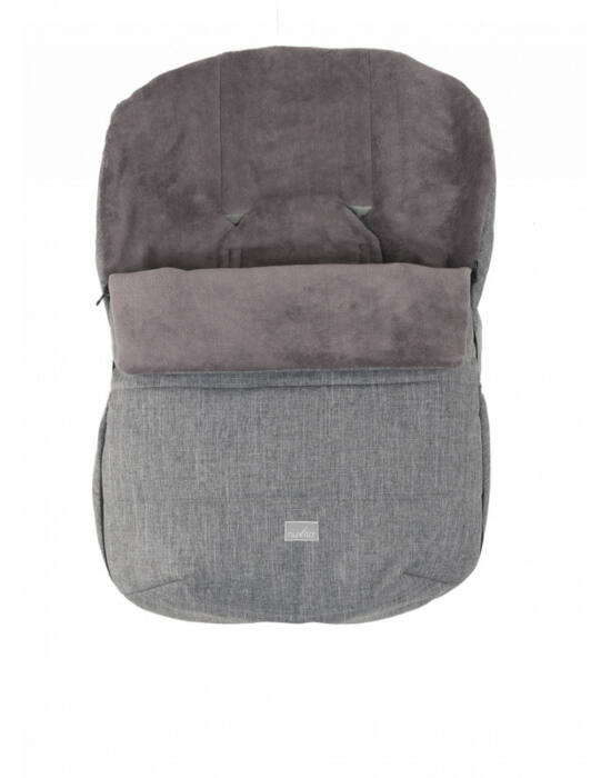 Nuvita AW Ovetto Buggy bundazsák 80cm - Melange Gray / Gray - 9245
