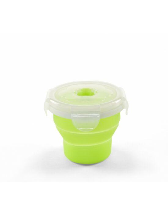 Nuvita összecsukható szilikon tányér 540ml - Zöld - 4468