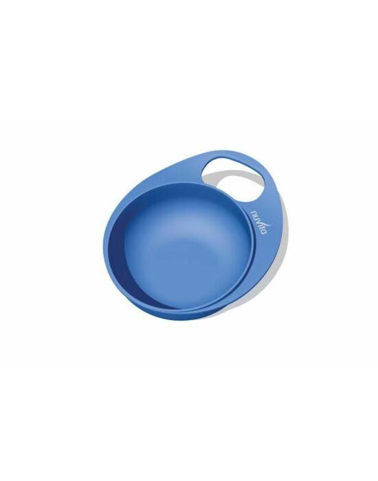 Nuvita EasyEating tál + tányér - Kék - 8461 !! kifutó !!