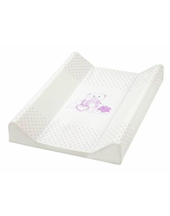 Albero Mio merev pelenkázó lap 70cm - 137 I love You Maci fehér-pink !! kifutó !!