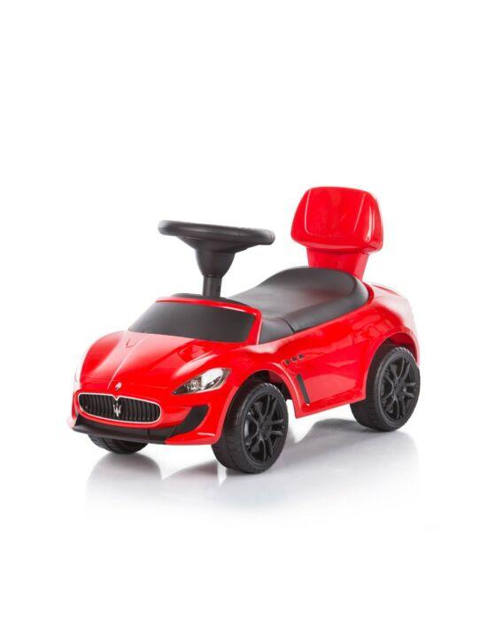 Chipolino Maserati Gran Cabrio MC bébitaxi - Red / Piros