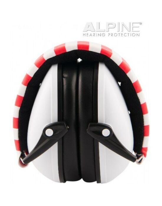 Alpine Muffy - gyerek hallásvédő fültok - fehér