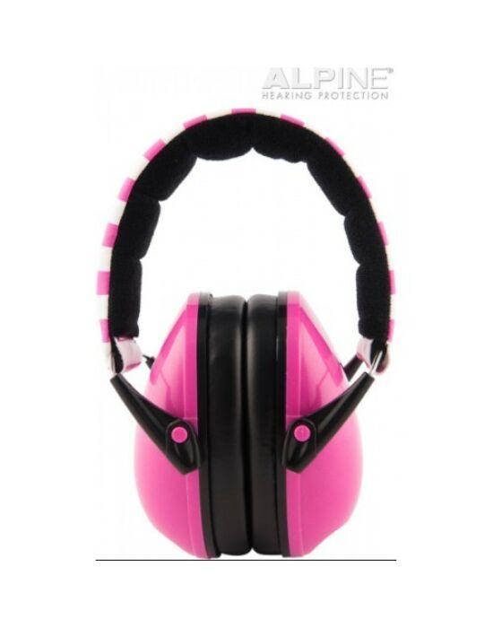Alpine Muffy - gyerek hallásvédő fültok - pink