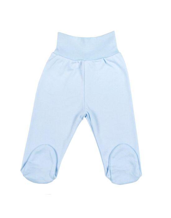 Baba lábfejes nadrág New Baby kék