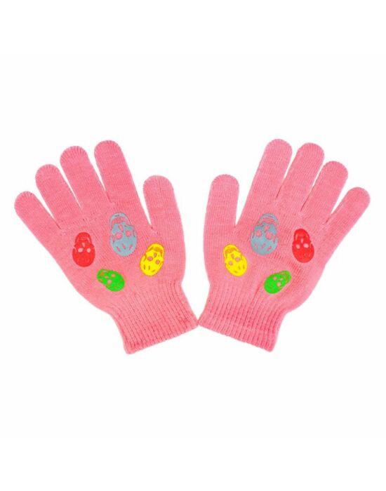Gyermek téli kesztyű New Baby Girl rózsaszín