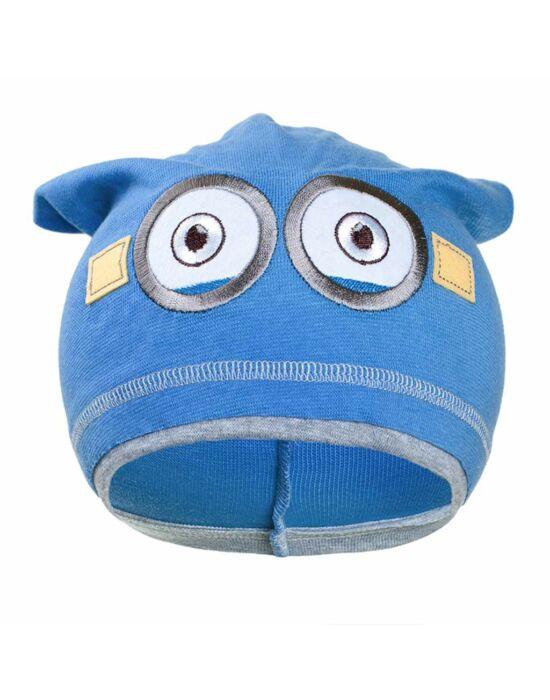 Gyerek őszi sapka New Baby Minion világos kék