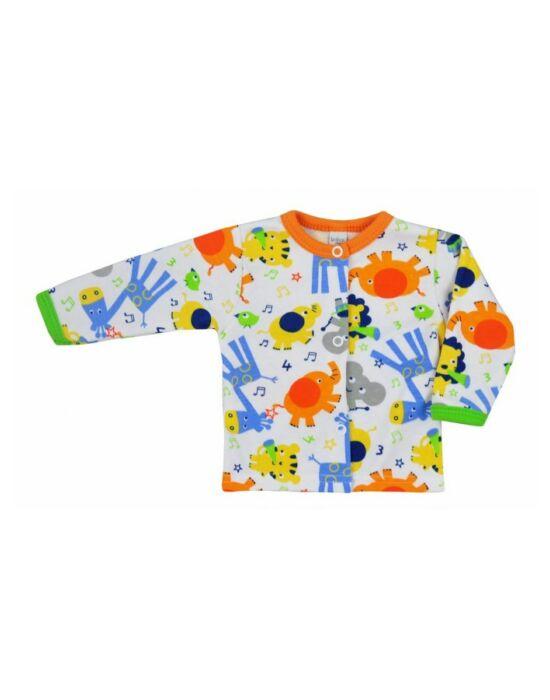 Baba kabátka Bobas Fashion Állatkert narancssárga