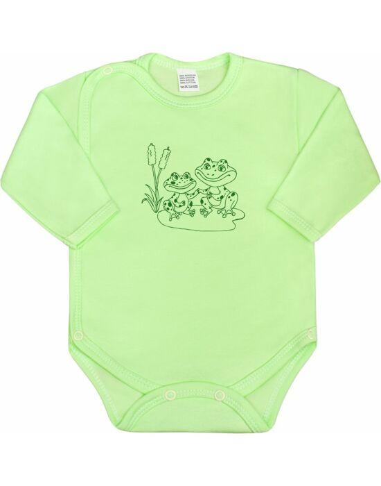 Csecsemő body New Baby Állatkák zöld