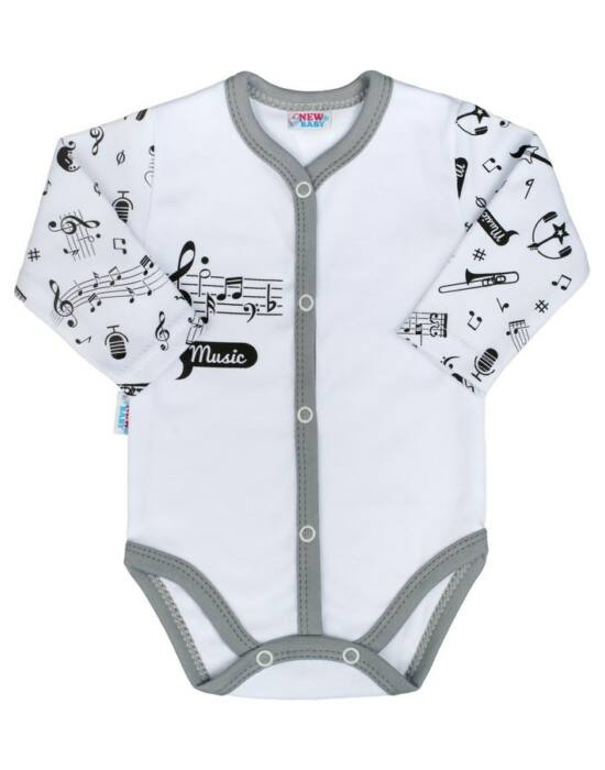 Baba body teljes hosszba patentos New Baby Music