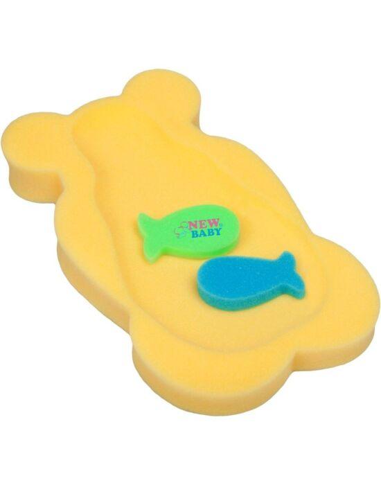 Hab alátét maxi New Baby sárga medve