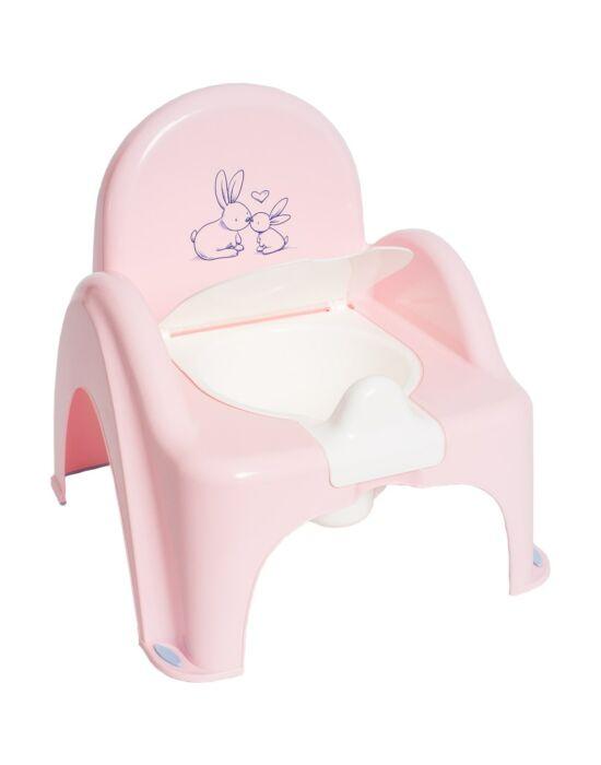 Gyerek bili becsukható deszkával Bunny rózsaszín