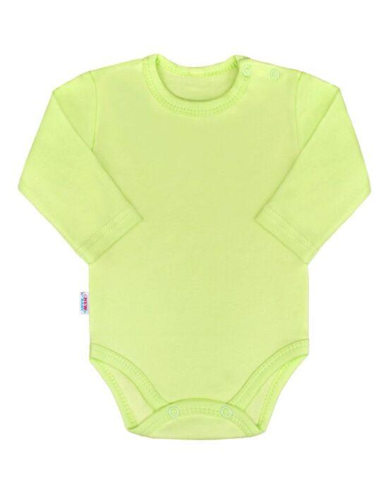 Baba hosszú ujjú body New Baby Pastel zöld