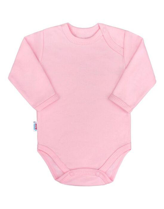 Baba hosszú ujjú body New Baby Pastel rózsaszín