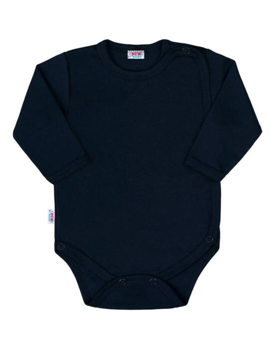 Baba body teljes hosszában patentos New Baby Classic II sötét kék