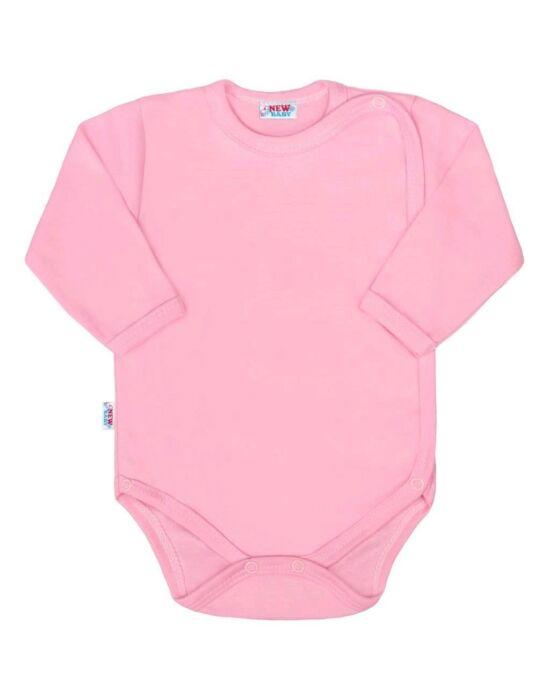 Baba body teljes hosszában patentos New Baby Classic II rózsaszín