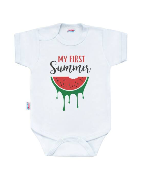 Body nyomtatással New Baby My first Summer