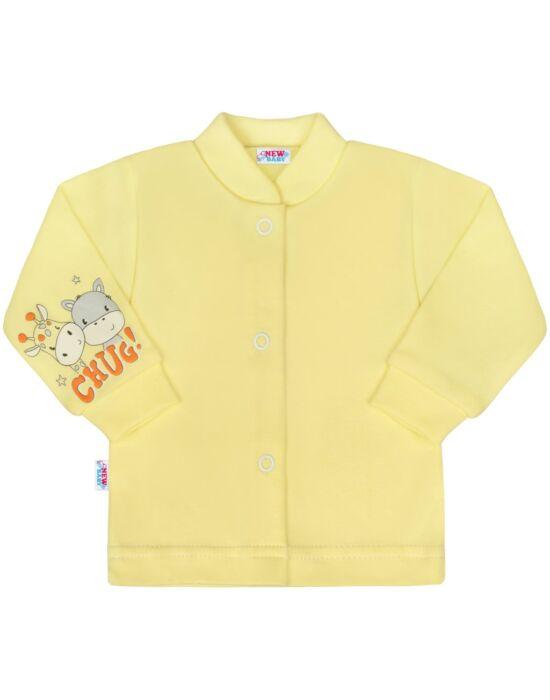 Baba kabátka New Baby chug sárga