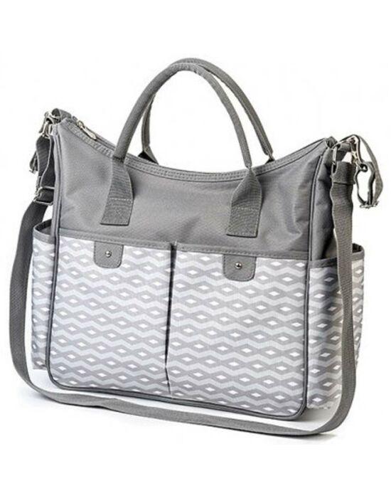 Stílusos táska babakocsira BASIC SO CITY Baby Ono világos szürke