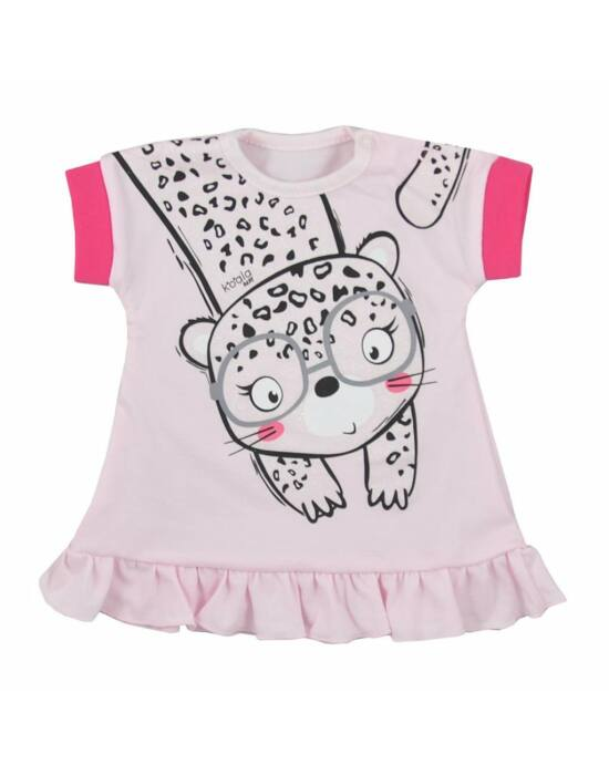 Baba nyári ruha Koala Sara rózsaszín