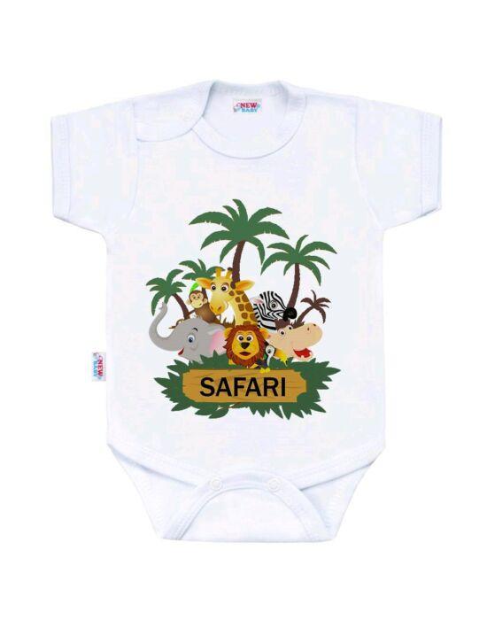 Body nyomtatással New Baby SAFARI
