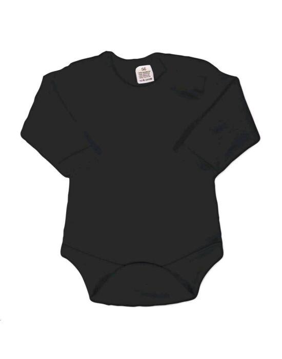 Body hosszú ujjú New Baby - fekete