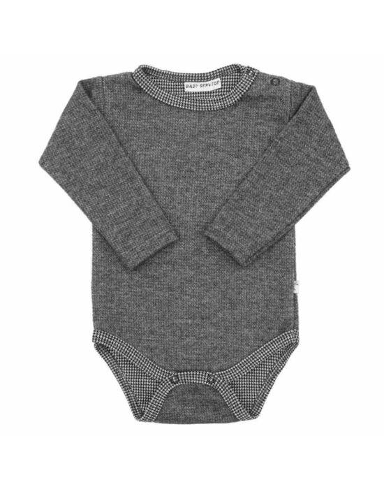 Baba téli body Baby Service Retro szürke