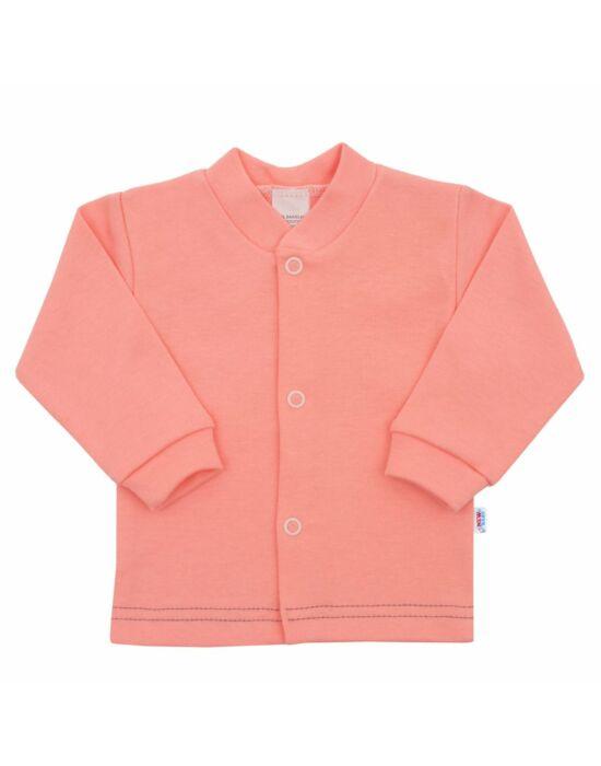 Baba kabátka New Baby Mouse lazac színű